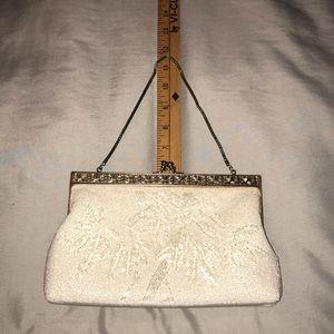 Handbags - Vintage style beaded clutch